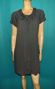 robe PAUL & JOE sister Taille : 38 gris manches courtes
