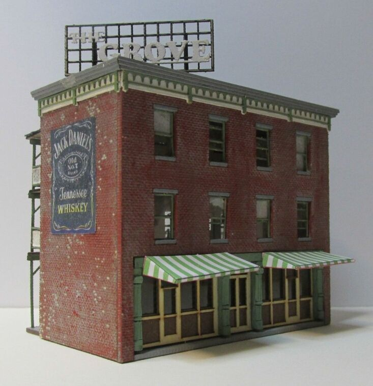 TT Scale   The Grove building kit 6059