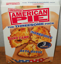 American Pie: The Threesome Pack - Band Camp, The Naked Mile, Beta House NEW