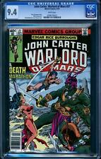 John Carter, Warlord of Mars 27 in CGC 9.4, white pages