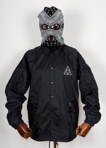 In Black Jacket Worldwide Regen Coaches Huf Xl 420 Jacke Windbreaker Plantlife n8ff0