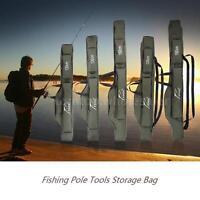 Fishing Rod Case Organizer. Carrier Holder Rack Hooks Pole Storage Bag Best U0o3