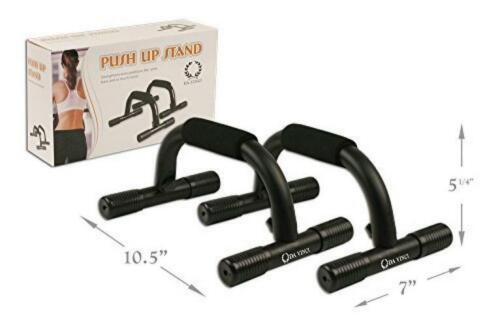 Da Vinci Pushup Bars with Non-Slip Feet and Comfort Foam Grip for Providing...