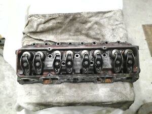 Details about GM SBC Pair Cast Iron Cylinder Heads