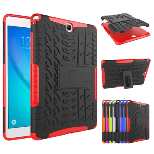 Heavy Duty TPU+PC Case Shockproof Kickstand Hard Cover for Samsung Galaxy Tablet