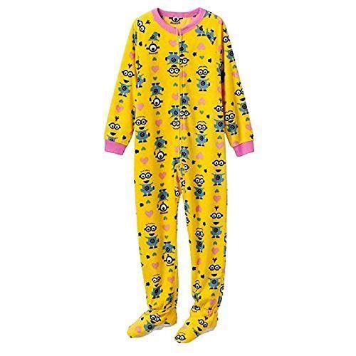 Despicable Me Minions Girls License Fleece Sleep Pant XS Yellow