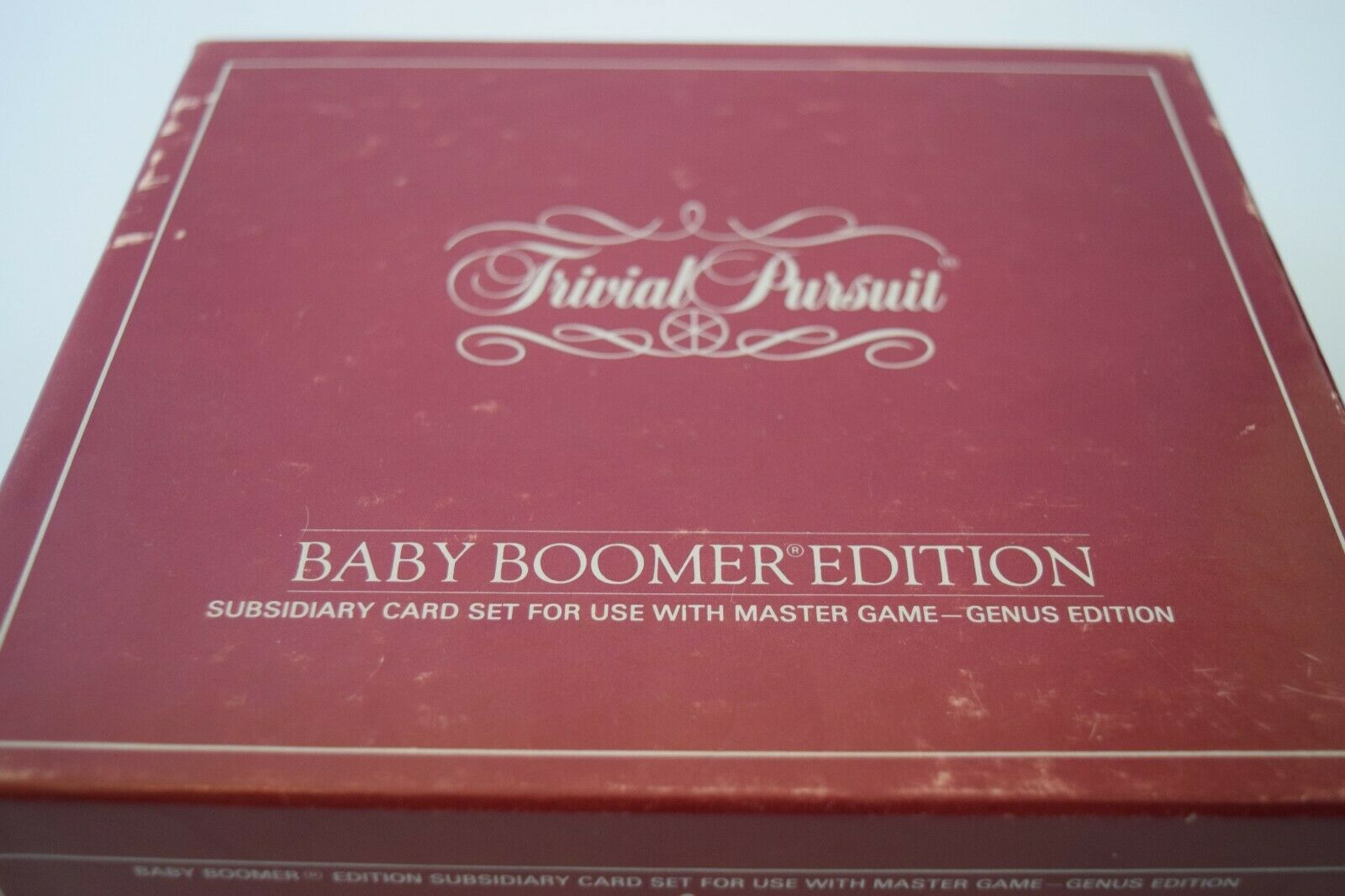 Trivial Pursuit Baby Boomer Edition Card Set Replacement Cards Two Cartons vtg