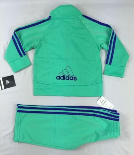 Adidas girls/' set 2 piece Tracksuit Jacket and pants Set size 2