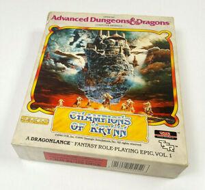 SSI-Champions-of-Krynn-Dragonlance-AD-amp-D-Commodore-64-Disk-Spiel-C64-CIB-OVP-DEUT