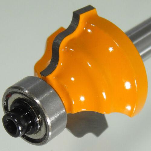 HM Fräser Schaft 8 mm Radius 3,96 mm Ø 28,8 mm zweischneidig Profilfräser