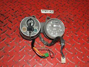 Cockpit-100km-h-Instrument-Zuendschloss-Tacho-gauges-speedo-Suzuki-RV-50