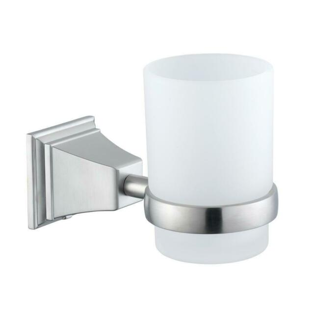 Wall Mounted Dual Toothbrush Holder