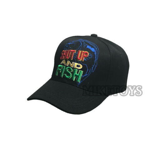 FISHING hat cap FISH Embroidered Outdoor Sports Military Camouflage Baseball cap