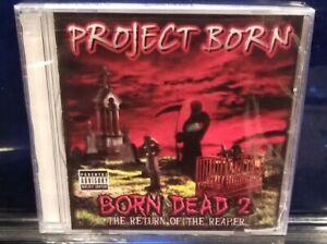 Project Born - Born Dead 2 CD SEALED insane clown posse Bizarre D12 horrorcore