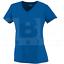 Augusta Girls Wicking Microfiber T-Shirt w// V-Neck