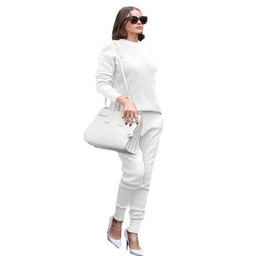 2pcs Women Autumn And Winter Fashion Long Sleeve Solid Big Pocket Jumpsuit