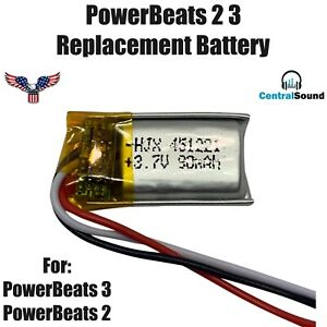 Replacement-Battery-for-Beats-Powerbeats-2-3-Wireless-Headset-by-Dr-Dre-90mAH