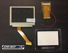 GBA Backlight MOD KIT AGS-101 LCD + 40 Pin TYPE B Adapter + GLASS Screen