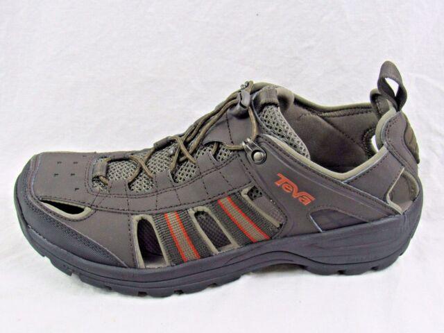 Teva Mens Kimtah Sandal Sporty Water Shoes 95 Black Olive Ebay
