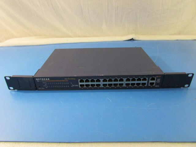 NetGear FS526T 24-Port Smart Fast Ethernet Switch w/Gigabit Ports