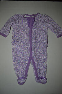 7b26641be Child of Mine by Carter s Infant Baby Girls Pajamas SIZE NB 0- 3 NWT ...