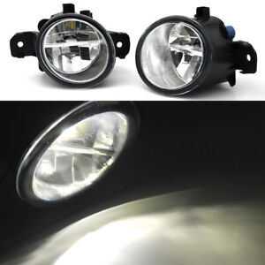2x-led-SPOT-Cree-LIGHT-FOG-FOR-NISSAN-FRONTIER-NAVARA-D22-DX-ST-R-4X4-4X2-98-05