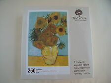 New & Wrapped Wentworth Wooden Jigsaw Sunflowers by Vincent van Gogh 250 pieces