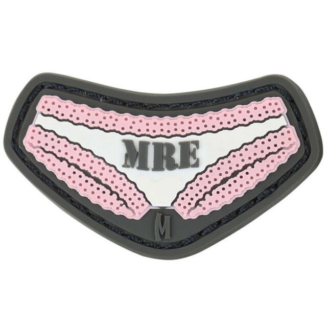 Morale Patch PVC - MAXPEDITION - MRE - Ready to EAT - FULL PINK colors - NEW