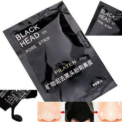 Mineral Mud Nose Blackhead Pore Cleansing Cleaner Removal Membranes Strips Spots