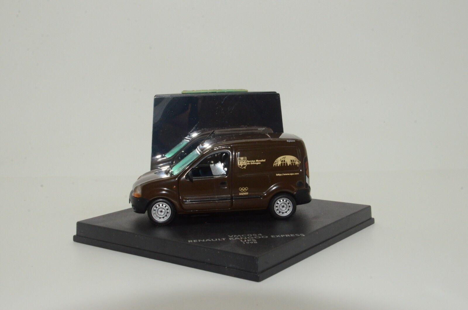 RARE    Renault Kangoo Express UPS 1998 Vitesse VMC054 1 43