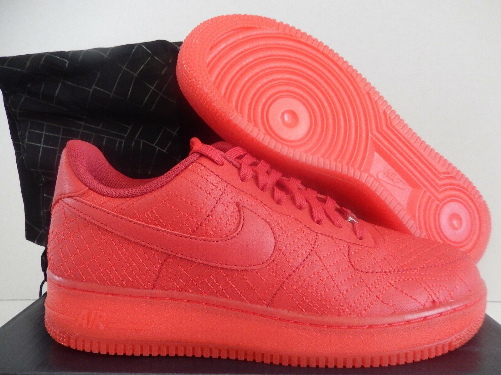 WMNS NIKE AIR FORCE 1 07 FW QS TOKYO CITY PACK RED-RED SZ 11 [704011-600]