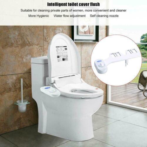 Toilet Seat Attachment Fresh Water Spray Non Electric Bidet R New R3B6