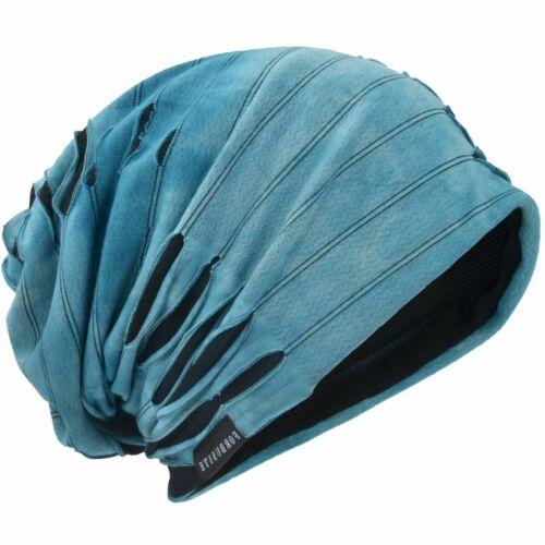 Mens Slouch Hollow Durable Materials Acrylic Staple Fiber Beanie Summer Skullcap