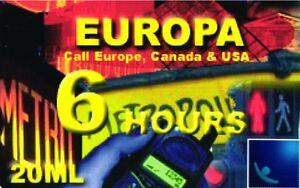 1155 SCHEDA TELEFONICA INTERNAZIONALE USATA EUROPA 6 HOURS 25-12-2002 20 kssp0bGB-09115755-656773808