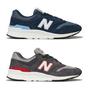 Homme-New-Balance-997-H-Running-Baskets-En-Bleu-Marine-et-Gris