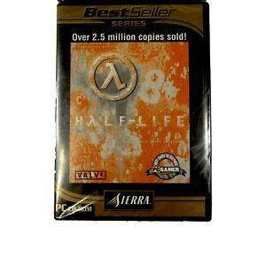 Half-Life-Valve-Sierra-CD-Rom-Best-Seller-Series-New-Original-Game-of-Series