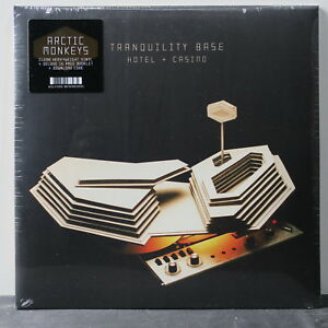ARCTIC-MONKEYS-039-Tranquility-Base-Hotel-amp-Casino-039-Ltd-Edition-CLEAR-Vinyl-2LP-NEW