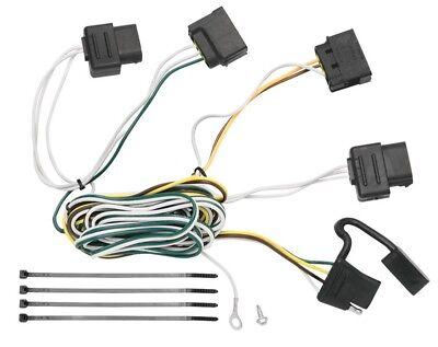 Trailer Wiring Harness Kit For 08-11 Ford Focus All Styles Plug & Play  T-One NEW | eBayeBay
