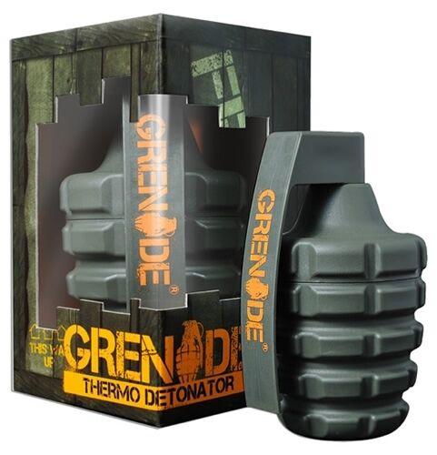 Grenade Thermo Detonator BRUCIA GRASSI dieta perdita di peso 12 44 100 capsule