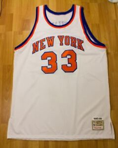 competitive price b1172 53440 Details about MITCHELL & NESS HARDWOOD CLASSIC 1985-86 PATRICK EWING NEW  YORK KNICKS JERSEY 54