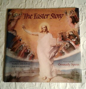 The Easter Story, Signed 1st Edition, F/F, King James Bible, Gennady Spirin