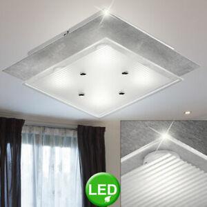 Led Diseño Techo Lámpara Aluminio Ess Salón Dormitorio Iluminación ...