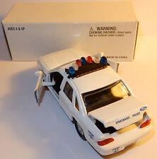 ROAD CHAMPS MADE 1998 FORD CROWN VICTORIA CINCINNATI OHIO POLICE 911 IN BOX 1/43