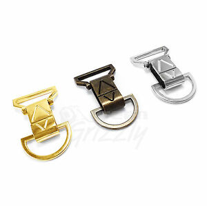 Solid-Bag-Clasps-Lobster-Swivel-Trigger-Clips-and-D-ring-for-30-mm-webbing-AVU