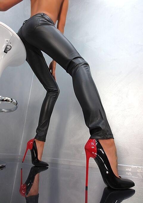 MADE IN ITALY SEXY WOMAN PIGALLE HIGH SCHUHE HEELS B12 PUMPS DAMEN SCHUHE HIGH LEDER 42 fd0608