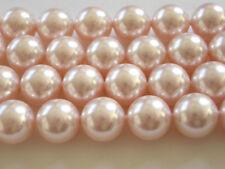 10 Rosaline Swarovski Crystal Beads Pearls 5810 - 10mm