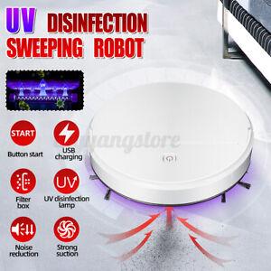 Neuf-UV-Sterilisation-Robot-Smart-Balayage-Aspirateur-Sol-Poussiere-Propre
