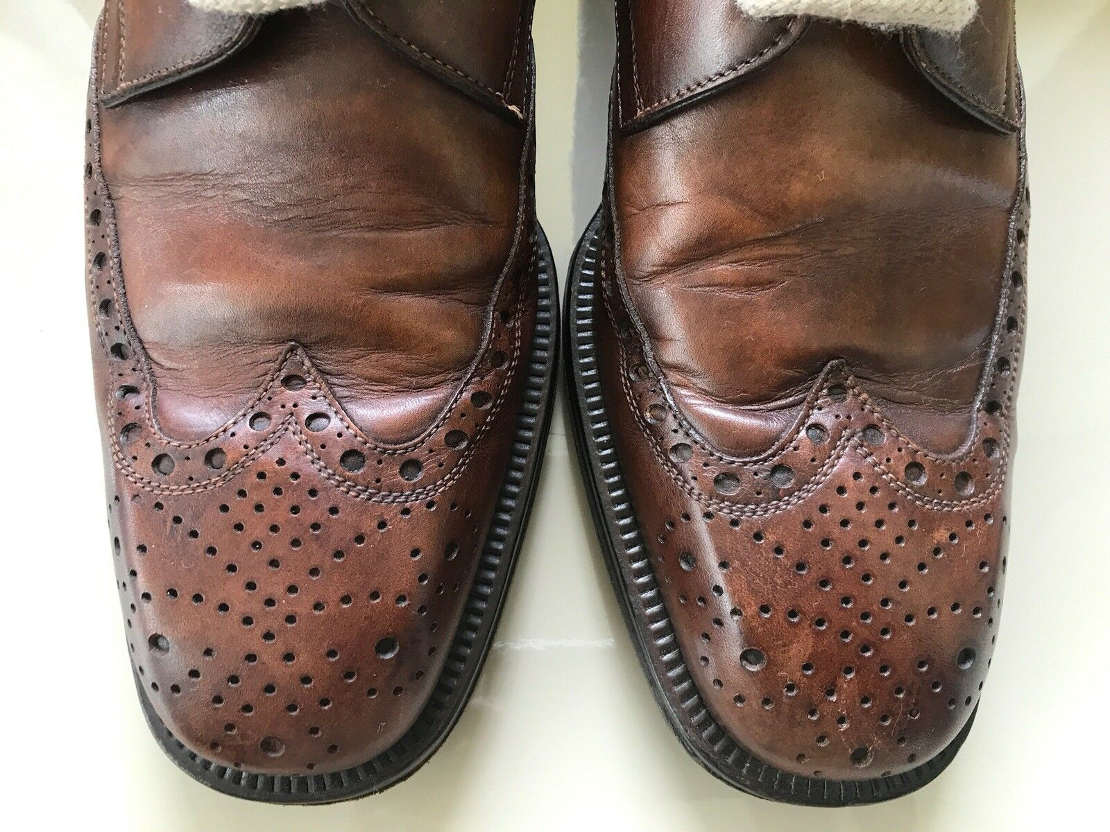 PAKERSON PAKERSON PAKERSON HAND MADE IN ITALY SCARPA herren CLASSICA IN PELLE braun MIS. 41,5 121a9c