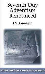 Seventh-Day-Adventism-Renounced-Paperback-by-Canright-D-M-Brand-New-Fre