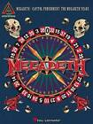 Megadeth: Capitol Punishment - the Megadeth Years: Guitar Recorded Versions by Hal Leonard Corporation (Paperback, 2001)